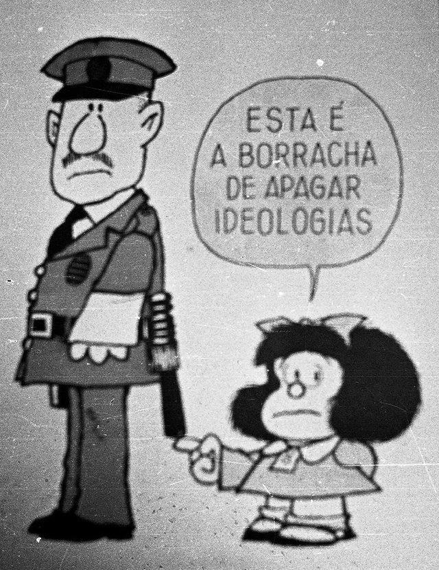 Bem disse Mafalda.