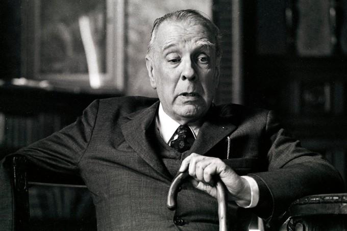 O grande escritor argentino, Jorge Luis Borges.