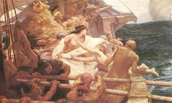 A fuga de Jasão e Medeia