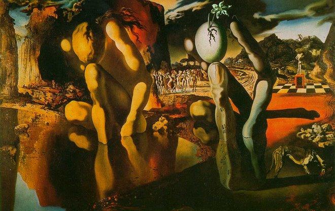 A Metamorfose de Narciso - Salvador Dalí