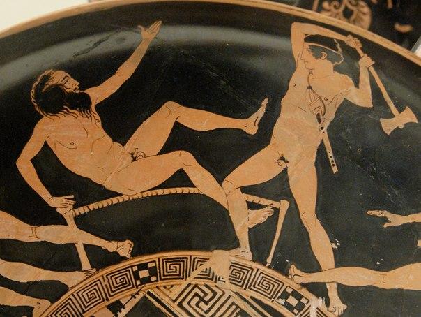 O Mito de Procrusto, estica ou corta, a metáfora da barbárie.