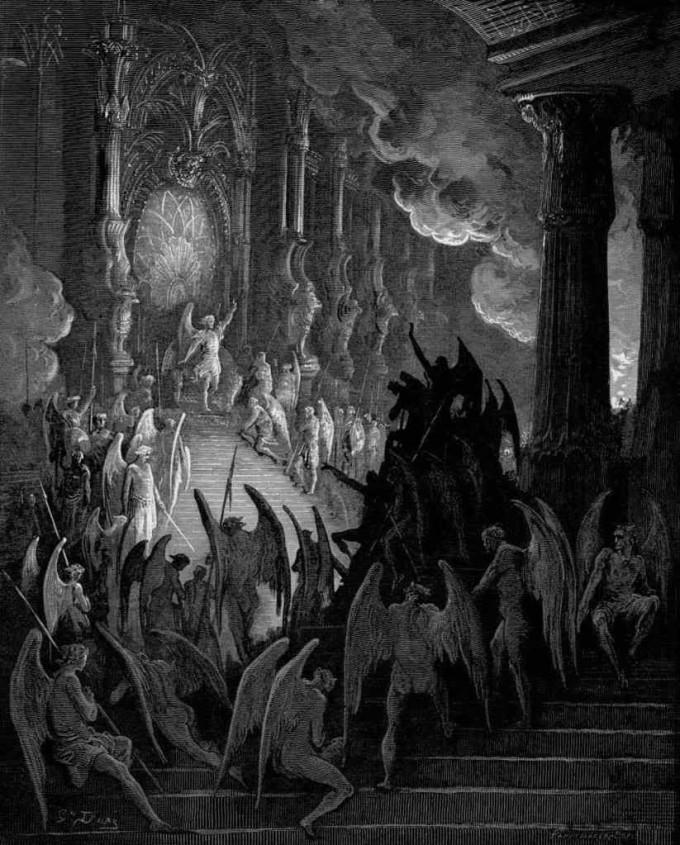 Paraíso Perdido, Gustave Doré.