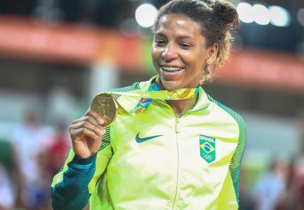Rafaela , Campeã olímpica de Judô e heroína do Brasil