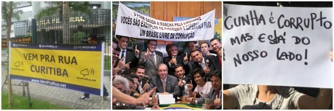 Por onde andam os milhões de Cunha?