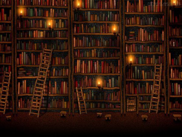 A Luz dos Livros contra as Trevas.