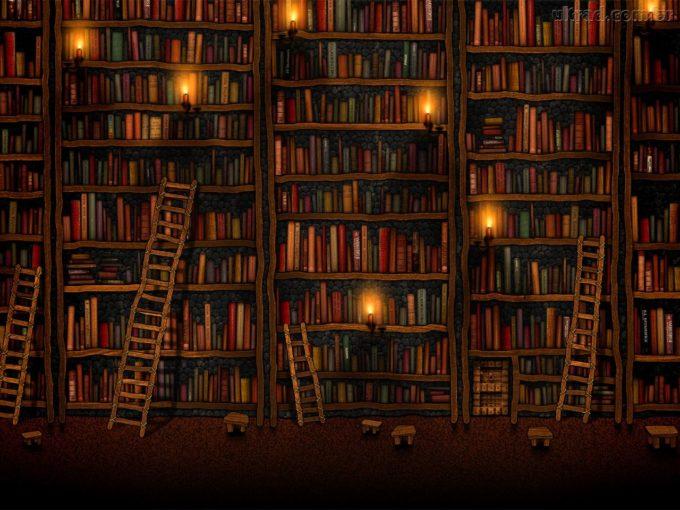 Livros nos dão uma dimensão maior do que é a vida.