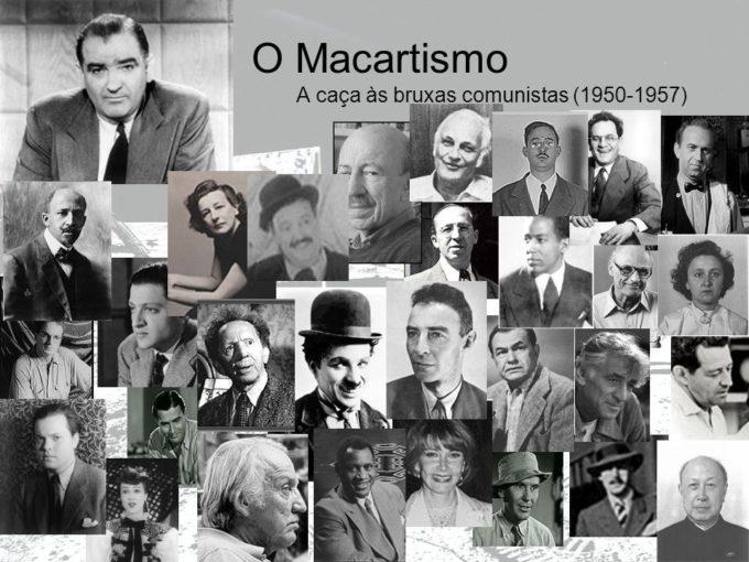 Marcatismo atacou a todos: Esquerda, liberais, intelectuais, artistas.