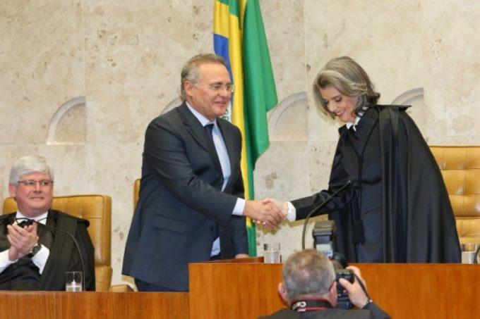 """A """"patriótica"""" decisão de deixar Renan na Presidência do Senado, fulmina a autoridade do STF."""