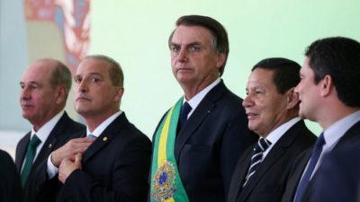 Pelo fim da Aventura Bolsonaro-Mourão-Guedes!!!
