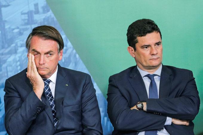 Bolsonaro e Moro, Irmãos Siameses em Divórcio.
