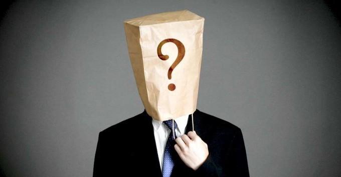 Sumiço: O Direito ao Anonimato.